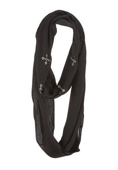 Rhinestone Cross Infinity scarf (original price, $14) available at #Maurices