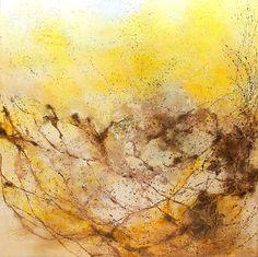 In rhythmic swing...100x100cm acrylic canvas