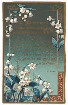 Blessed Are the Merciful with Lily of the Valley by 12StarsVintage