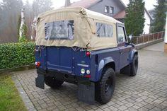 Land Rover Defender 90 Soft Top WIPA/HD/SPORTLENKRAD/ als Geländewagen/Pickup in Pressig