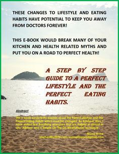 A Perfect Lifestyle and Eating Habits, To Keep You Away from Doctor Forever