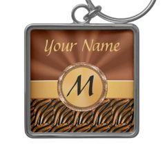 """Large Silver Monogrammed Keychains for Women.  Personalization Gifts  Make a statement with Customizable Gifts with YOUR PHOTOS and or TEXT. http://www.zazzle.com/littlelindapinda/gifts?cg=196011228045420884&rf=238147997806552929    Easy to use Templates.  Click """"Change"""" to Upload YOUR PHOTO  and type in YOUR TEXT into the TEXT BOX(es).  ALL of Little Linda Pinda Designs CLICK HERE: http://www.Zazzle.com/LittleLindaPinda*"""
