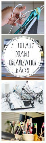 Organization hacks, easy organization, popular pin, organization tips, home organization, clean home..