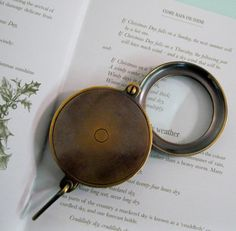 Vintage Magnifying Glass Loupe by Suite22 on Etsy, $20.00