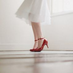 Red shoes......my weakness.