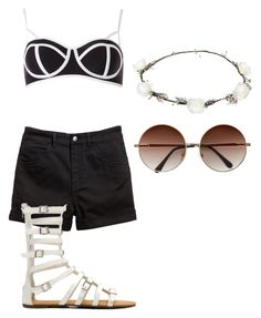 """""""Untitled #172"""" by wieldy ❤ liked on Polyvore featuring Dorothy Perkins and Lipsy"""