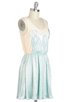 Love these pale colors!   Love at Frost Sight Dress, #ModCloth #partydress