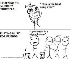 Music fans, how many times has this happened to you?