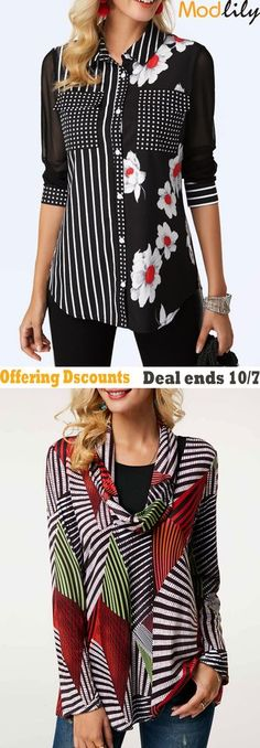 trendy tops for women online on sale Over 50 Womens Fashion, Fashion Over 50, Fashion Tips, New Outfits, Dress Outfits, Fall Outfits, Dresses, Trendy Tops For Women, October 7