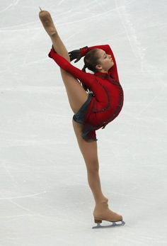 Yulia Lipnitskaya spiral.  I would love it even more if she wasn't grabbing her leg