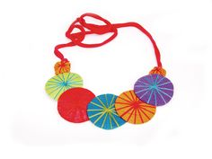 Disc Necklace | Nushka Jewellery | buykoop.com Disc Necklace, Crochet Necklace, Jewellery, Handmade, Jewels, Hand Made, Schmuck, Jewelry Shop, Jewlery
