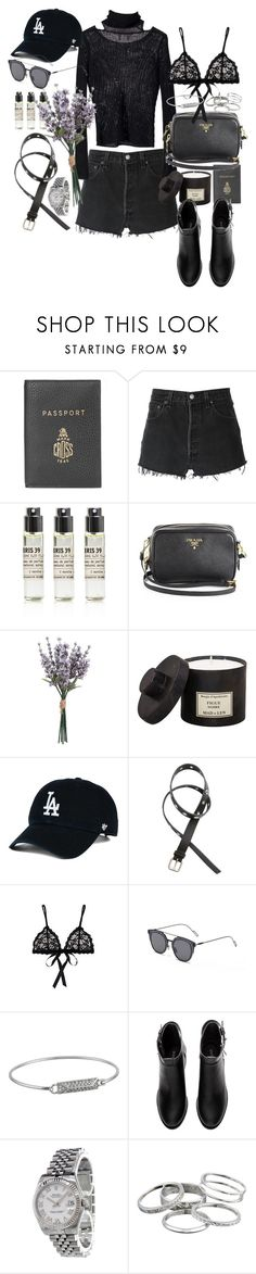 """I've got nothing for you"" by marissa-91 ❤ liked on Polyvore featuring Mark Cross, RE/DONE, Le Labo, Prada, H&M, Hanky Panky, GANT, Rebecca Minkoff, Rolex and Kendra Scott"