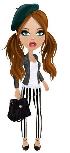 Mall World - #france #black #white #stripes