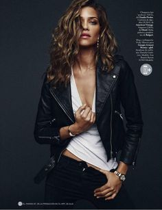 #AnaBeatrizBarros by #XaviGordo for #ElleSpain January 2015