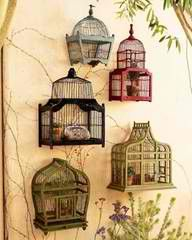 Bird cages for the patio
