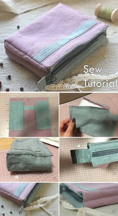 Up Bag Tutorial Make Up Bag Tutorial ~ How to sew for beginners. Step by step illustration tutorial.Make Up Bag Tutorial ~ How to sew for beginners. Step by step illustration tutorial. Sewing Patterns Free, Free Sewing, Free Pattern, Pattern Sewing, Purse Patterns, Dress Patterns, Sewing Hacks, Sewing Tutorials, Sewing Tips