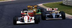Good times! Senna + Prost + Schumacher - 1993