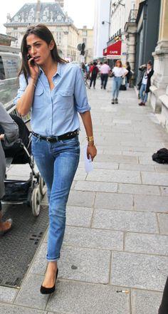 Paris Fashion Week street style by Mode   B