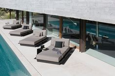 Sleek and Sophisticated Manutti Outdoor Furniture