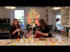 Sweet Dani B's Easter Cookie Tree: Easter Decorating Ideas - YouTube