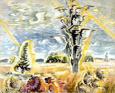 charles burchfield: sparrow hawk weather (1960)