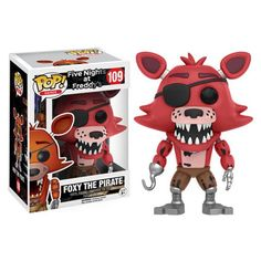 Five Nights at Freddy's Foxy The Pirate Pop! Vinyl Figure - Funko - Five Nights at Freddys - Pop! Vinyl Figures at Entertainment Earth