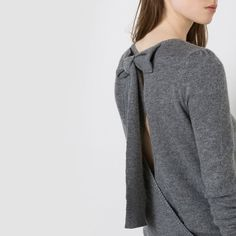 Pull dos avec noeud MADEMOISELLE R