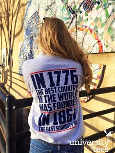 Rep your country. Rep your letters   Pi Beta Phi   Made by University Tees   www.universitytees.com