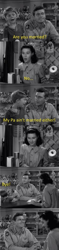 Proper wing-man technique Andy Griffith Show Funny Pictures With Captions, Picture Captions, Funny Pics, Top Funny, Funny Shit, Funny Stuff, Random Stuff, Funny Things, Odd Stuff