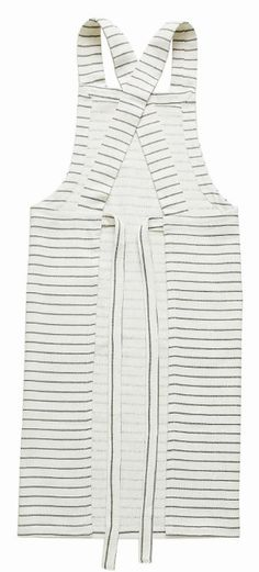 I know it's probably a bit sad to be lusting after something as prosaic as an.apron, but when it looks like this, grey and white stripey linen one well, it's absolutely OK. Fall Winter, Autumn, Woven Cotton, Soft Furnishings, Winter Collection, Home Textile, Aprons, Looking For Women, Kettle