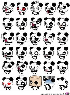 Pandas emotions
