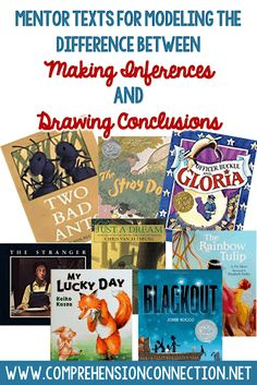 Exploring the Difference between Making Inferences and Drawing Conclusions | Comprehension Connection