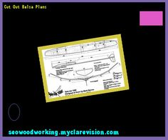 Cut Out Balsa Plans 104124 - Woodworking Plans and Projects!
