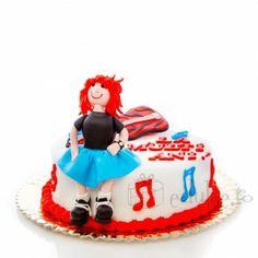 Un tort tra-la-la pentru pasionatii de muzica Birthday Cake, Desserts, Food, Tailgate Desserts, Deserts, Birthday Cakes, Essen, Postres, Meals