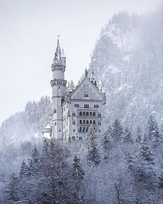 Follow @epic.travels for awesome travel images. Neuschwanstein Castle Germany. Photo by @cenkdemirguc
