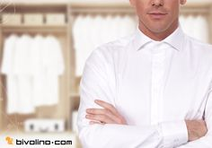 Maßgeschneiderte Bivolino-Hemden. Weiß mit anderen Farben als Kontrast und kunstvollen Aufdruck für Ihre Lieblingsmaßhemden. Maßgeschneiderte Hemden ohne Maßbandvermessung.