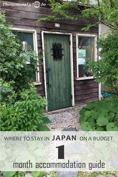 Stay in Japan on a budget! In this accommodation guide you can read all about the different types of accommodation I stayed at & how much I paid per night. #Japan #accommodation