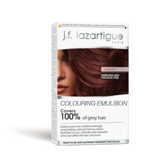 Colouring Emulsion - Auburn (Permanent hair dye) - 7 FL. OZ. (60 ML) - Neutralizing bath 0,2 FL. OZ. (0,2 ML)