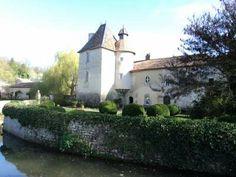 Jardin du Prieuré de Laverré - Aslonnes (86340) - Vienne - Poitou-Charentes - France