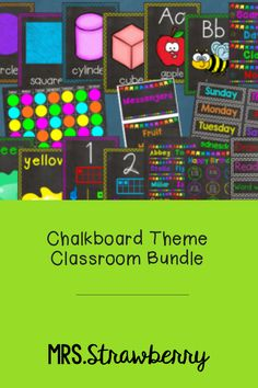 This chalkboard theme decor bundle will set you up with everything you need for your classroom. These bright posters, labels and charts will brighten up your classroom and add to all the fun! Purchase the bundle and SAVE! Phonics Activities, Color Activities, Classroom Posters, Classroom Themes, Number Recognition Activities, Kindergarten Colors, 2d And 3d Shapes, Birthday Charts, Job Chart