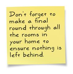 Budget Van Lines #Moving #Tip     This sticky note courtesy of @Pinstamatic (http://pinstamatic.com)