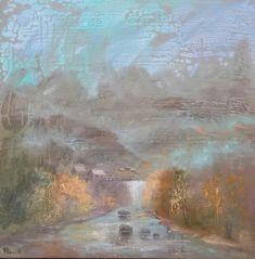 """""""Landscape."""" Oil on canvas Size 60*60cm."""