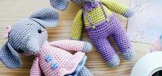 Baby elefants amigurumi pattern