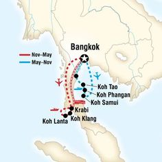 Full Itinerary to Island Hopping in Thailand