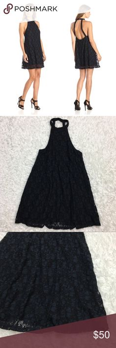 MINKPINK Black Lace Halter Dress : C New with tags MINKPINK Dancing in the Dark Dress Lace Halter Dress women's size xs tag says black, but has a blueish tint in my opinion Approximate measurements  ▪️Pit to Pit 18 inches  ▪️Shoulder to Hem 33 inches  Thank you for checking out my closet! Offers are always welcome or bundle for bigger savings. If you have any questions feel free to ask! MINKPINK Dresses Mini