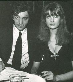 Terence Stamp & Jean Shrimpton.