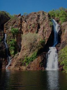 Litchfield National Park: Wangi Falls  #Australia Litchfield National Park, Litchfield Park, Cool Places To Visit, Places To Travel, Australian Continent, Green Earth, Short Trip, Travel Memories, Lugares