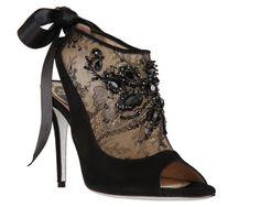 Foto e dettagli della collezione scarpe Rene Caovilla autunno inverno 2013 2014, calzature di un marchio elegante e glamour che piace a tutte le donne ....