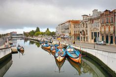 Aveiro (Portugal), sort of like a provincial Venice Travel Around The World, Around The Worlds, Lisbon Airport, Sea Activities, Best Travel Guides, Visit Portugal, Famous Places, Group Tours, Natural Wonders