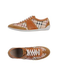 Burberry Tennis Shoes with Suede and Leather